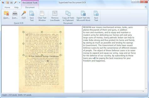 senza dubbio testo free ocr to word un ottimo software per estrarre il testo