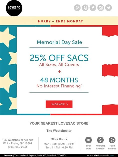Lovesac Credit Card by Lovesac 25 Sacs Memorial Day Sale Milled