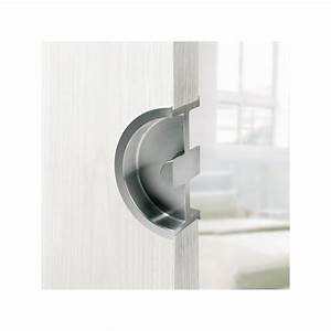 Poignée Pour Porte Coulissante : poign e pour porte coulissante demi lune ~ Dallasstarsshop.com Idées de Décoration