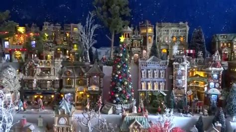 lemax christmas villages display 2014 15 lemax houses department 56 models trees snowmen and