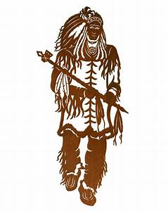 42quot indian chief metal wall art southwest wall decor With indian wall art