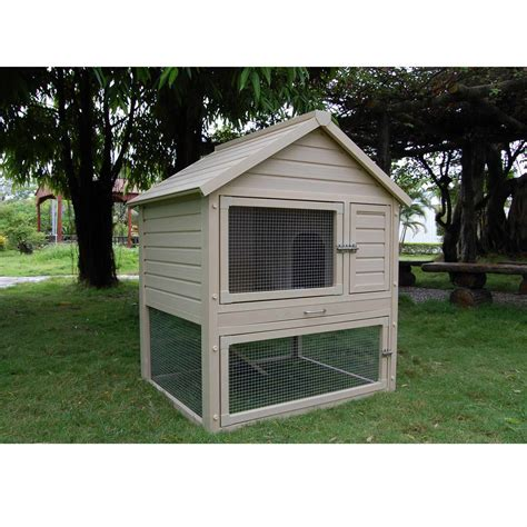pet rabbit hutch new age pet eco concepts huntington rabbit hutch with pen