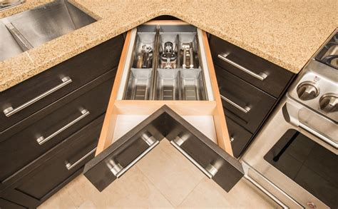 Blind Kitchen Cabinet Organizer by 8 Smart Amp Stylish Kitchen Storage Systems Homes And Hues