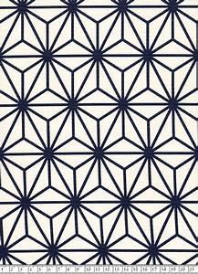 Stoffe Geometrische Muster : japanischer stoff asanoha weiss xl von himbeerfell auf ~ A.2002-acura-tl-radio.info Haus und Dekorationen