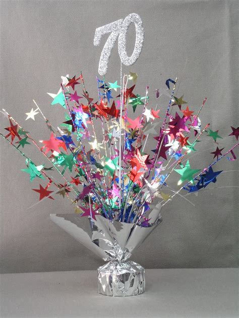 70 Birthday Decorations by 70 Table Centerpiece Doolins