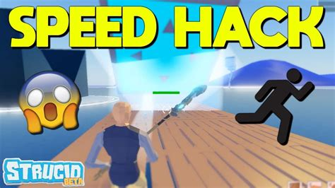 speed hack glitch  strucid roblox youtube