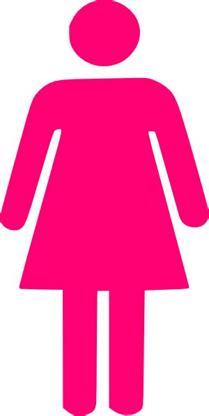 Woman Silhouette Pink Clip Art at Clker.com - vector clip ...