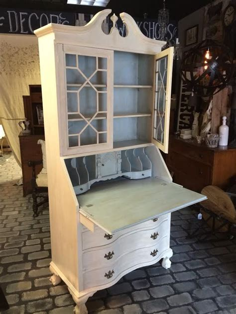 secretary desk reinvented  chalk paint  annie sloan