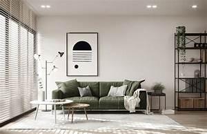 Home, Designing, Scandinavian, Style, Interiors, In, Green