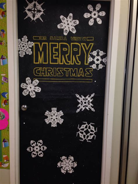 star wars christmas door christmas