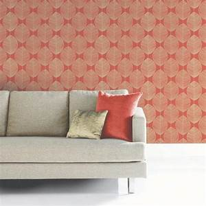 Arthouse Retro Leaf Pattern Leaves Motif Designer ...