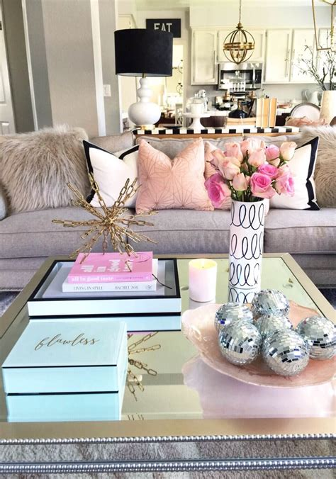 Coffee table decor ideas brilliant living decorating ideas nature od, source: 37 Best Coffee Table Decorating Ideas and Designs for 2017
