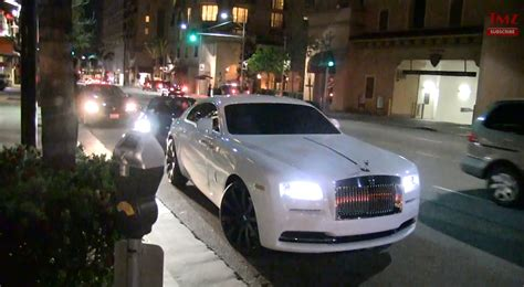 video carl crawford rolling   wraith celebrity cars blog