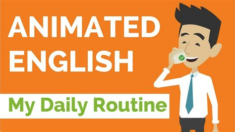 Animated English — My Daily Routine - YouTube