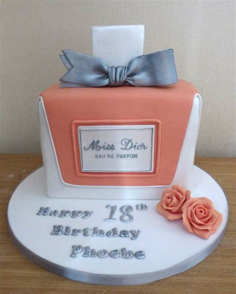 dior perfume bottle birthday cake susies cakes