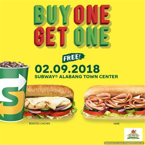 21478 Mister Pot Coupon by Buy One Get One Free At Subway Alabang Town Center