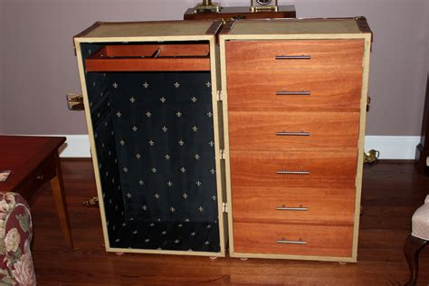 wardrobe trunk  pebblecreek  lumberjockscom