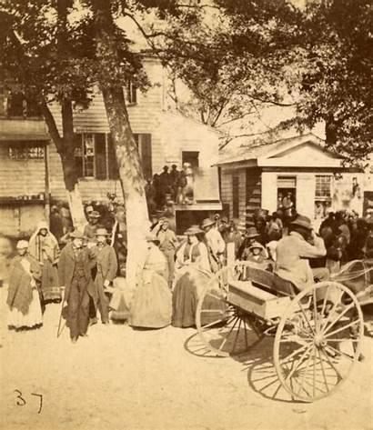 Civil War Union Slaves Carolina South During