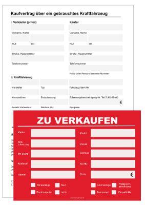 privat auto verkaufen kfz kaufvertrag f 252 r den privatverkauf vorlagen zum herunterladen