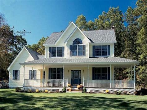 farm style house plans  wrap  porch farmhouse