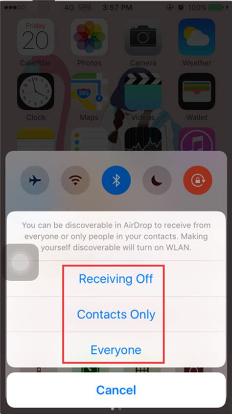 how to turn on airdrop on iphone how to turn on airdrop on iphone 7 3utools