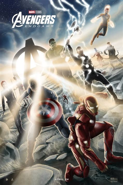 avengers endgame poster  tom miatke