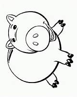 Coloring Piggy Bank Toy Clipart Cartoon Cliparts Robber Template Pig Clip Money Printable Banks Library Fat Sketch sketch template