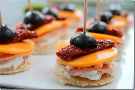 canapes apero facile photos canapé apéro