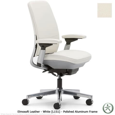chaise steelcase steelcase amia chair in leather