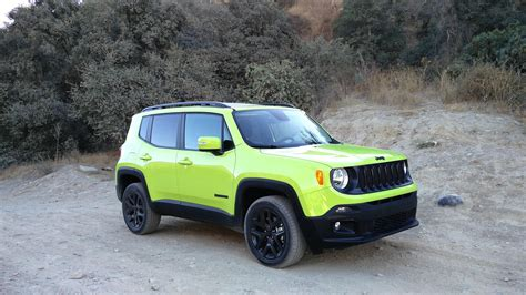 jeep renegade altitude road test 2017 jeep renegade altitude clean fleet report
