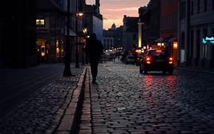 cityscapes, streets, alone, Poland, macro, Poznan ...