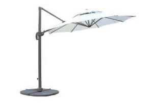 kontiki shade cooling offset patio umbrellas 10 ft