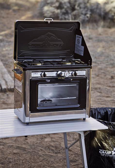 estufa  horno portatil  camping  en