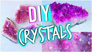 DIY Room Decorations: Tumblr Inspired Crystals! - YouTube