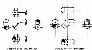 Drawing The 45 Elbow - Piping Systems