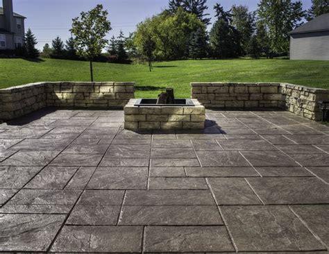 poured concrete patio cost 24 amazing sted concrete patio design ideas