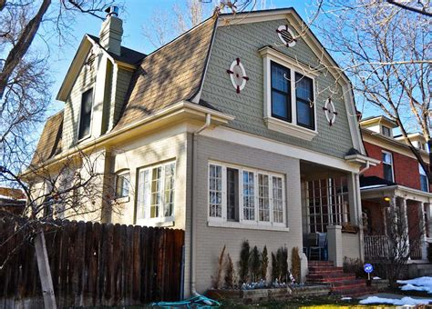 Exterior Design Inspiring Home Design With Gambrel Roof