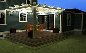 Outdoor led lighting for patios : Patio outdoor led string lights austin