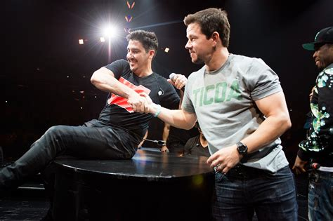 Mark Wahlberg Joins New Kids On The Block On Tour For