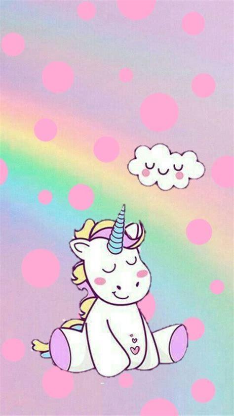 fondos de pantalla unicornios  celular hd kawaii