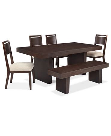 garwood dining room furniture 6 piece set table 4 side
