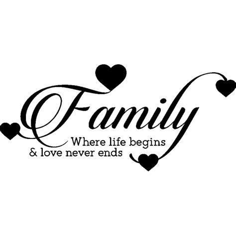 Sticker Family Where Life Begins