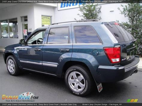 2005 Jeep Grand Cherokee Limited 4x4 Deep Beryl Green