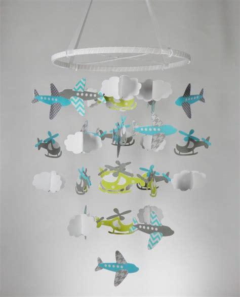 Mobile Selber Basteln Baby by Baby Mobile Selber Basteln Papier Hubschrauber Flugzeuge