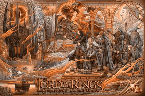 Lotr The Fellowship Of The Ring By Ise Ananphada