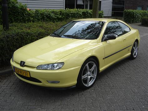 Peugeot 406 Coupe by 1998 Peugeot 406 Coupe 8 Pictures Information And