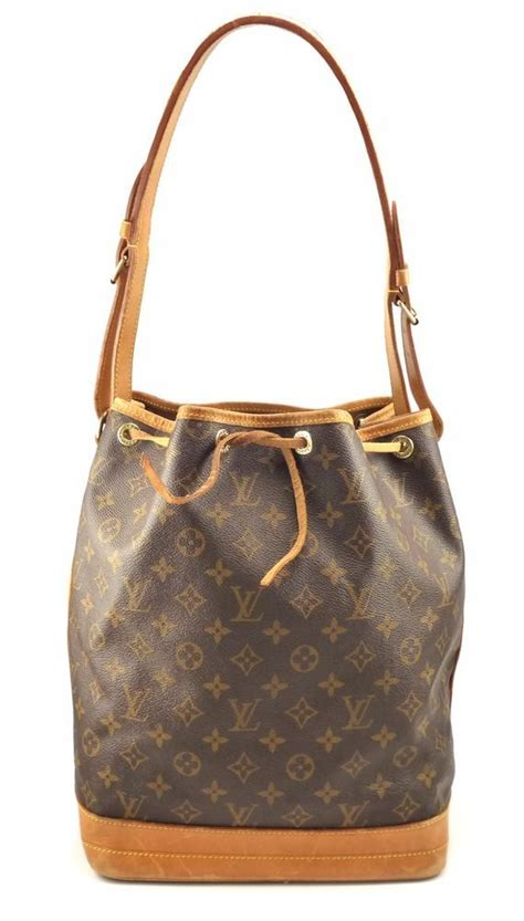 louis vuitton authentic noe monogram canvas bucket