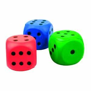 6 3 En Cm : set de 3 d s en mousse 6 cm r de jeux ~ Dailycaller-alerts.com Idées de Décoration