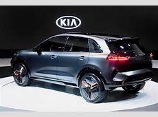 Kia Niro EV concept debuts at CES with 238 mile driving