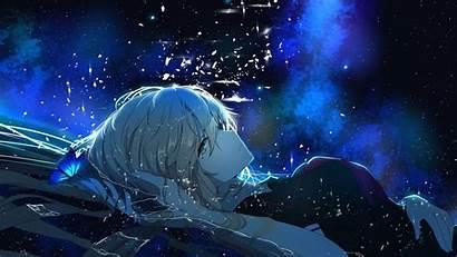 Vocaloid Stardust Dark Anime Background Desktop